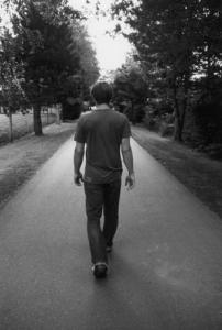 MAN WALKING 1